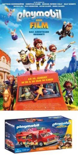 Endlich ist es soweit: Die PLAYMOBIL-Figuren kommen...Kino!