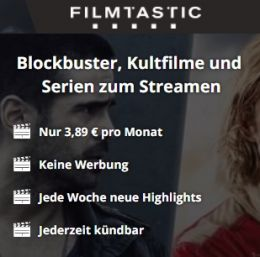 Blockbuster, Kultfilme und Serien zum Streamen